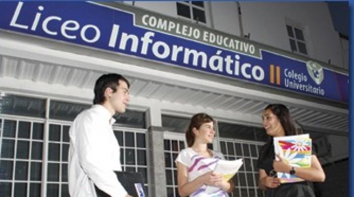 Oportunidades para estudiar 2018 en Colegio Universitario Liceo Informático