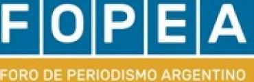INFORME DE FOPEA A LA LIBERTAD DE EXPRESIÓN