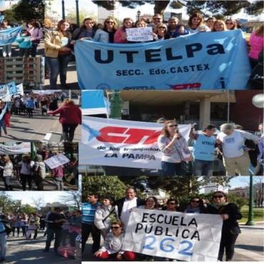 Congreso de UTELPA  se declara por unanimidad en alerta y movilización  y adhiere a la jornada de  movilización y protesta del día 30 de marzo, y paro general para el día 6 de abril junto a la CGT y CTA.