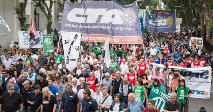 Comienzan los cortes por la marcha de la CGT
