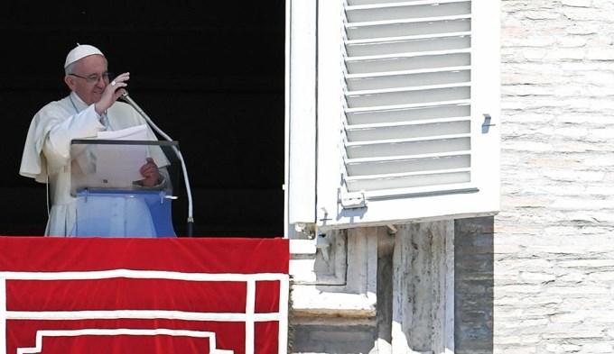 El Papa pidió