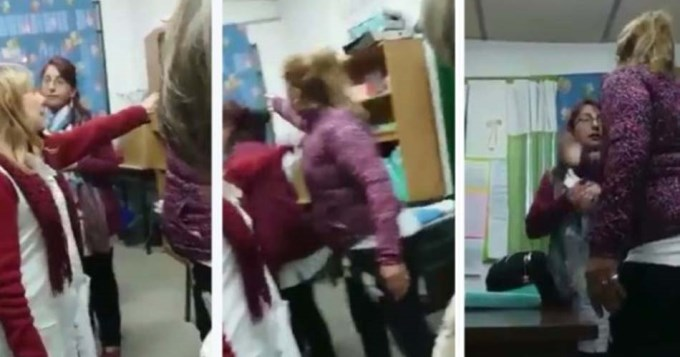 Insólita excusa de la madre de alumno que golpeó a maestra