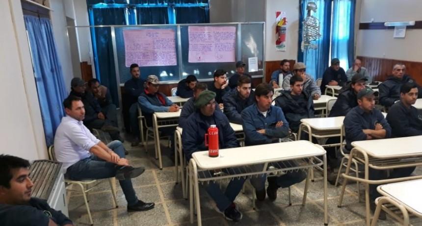 Capacitación sobre Seguridad e Higiene en la CEVIC a empleados.