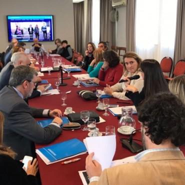 El decano Alpa y el vicedecano Marull analizaron oportunidades de financiación para la UNLPam
