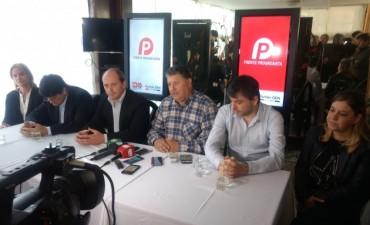 Lanzamiento del Frente Progresista Pampeano  Luis Solana: