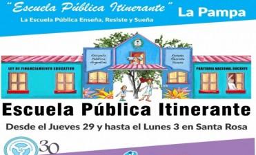 LLega la Escuela Pública Itinerante a La Pampa