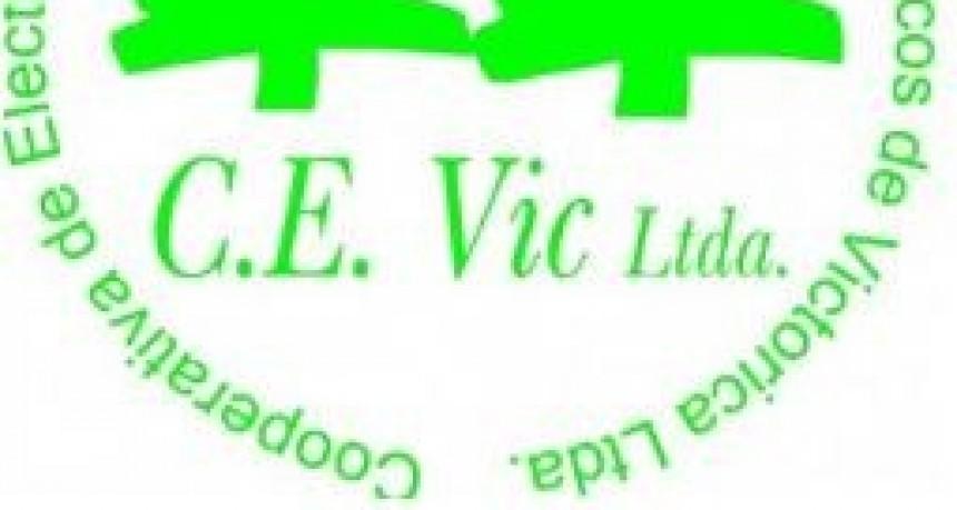 La C.E.Vic Ltda informa de Corte para el Viernes 3 de Agosto