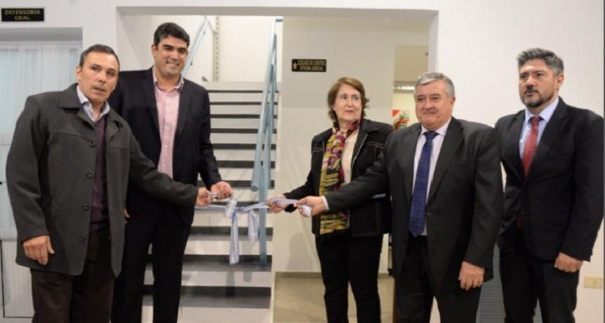 Inauguraron edificio judicial de Victorica