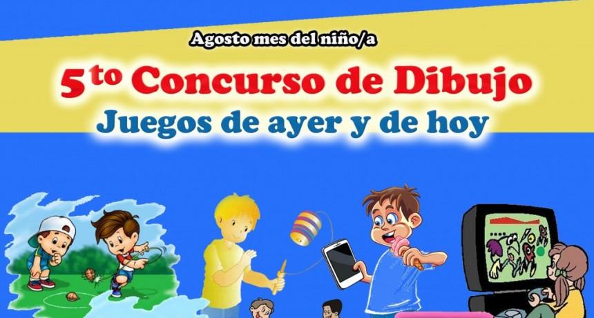 """DAFAS invita a dibujar """"Juegos de ayer y de hoy"""""""