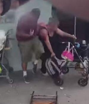 Terrible video: policías le dispararon al secuestrador y mataron a la rehén