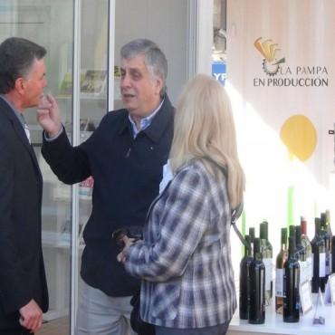 Moralejo recorrió la 62º Exposición Rural de Realicó