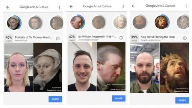 Compará tu cara con la de un famoso cuadro