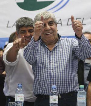 Hugo Moyano lanzó nuevo frente sindical