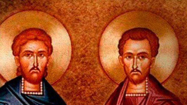 La iglesia recuerda hoy San Cosme y Damián