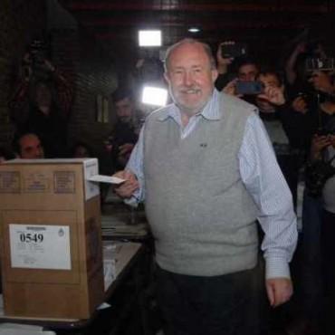 """Votó Verna: """"Vamos a remontar los 22 mil votos"""""""