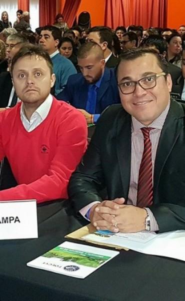 RICARDO GÓMEZ DEL SINDICATO (SOECYT) CELEBRÓ LA VICTORIA DEL PJ