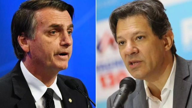 Bolsonaro y Haddad le ponen pimienta al balotaje