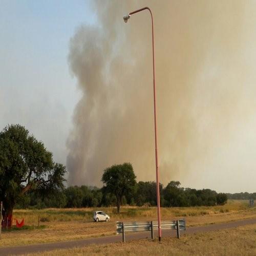 Incendios rurales: seis focos activos