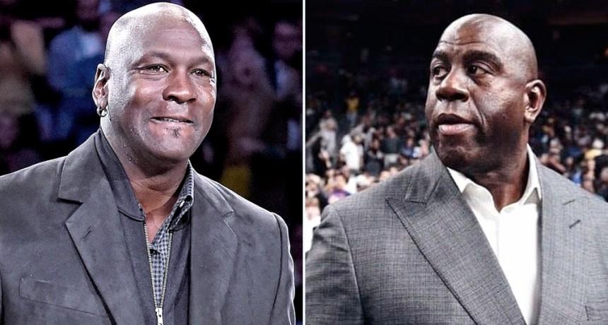 Michael Jordan y