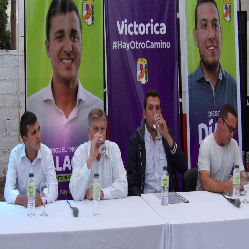 Presentación de Candidatos Frente Justicialista Pampeano en Victorica