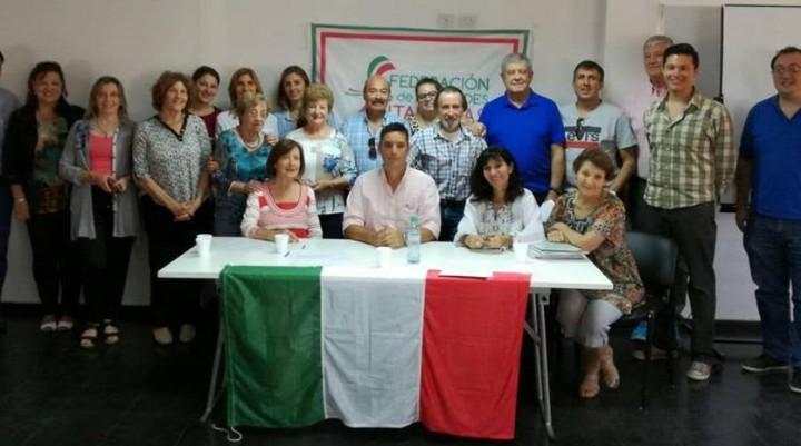 Nueva Comisión Directa de la Federación Italiana de  La Pampa