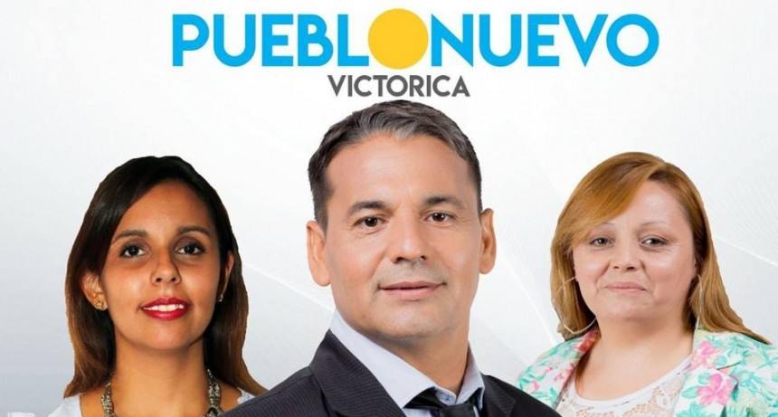 Los Candidatos por Victorica de Pueblo Nuevo.