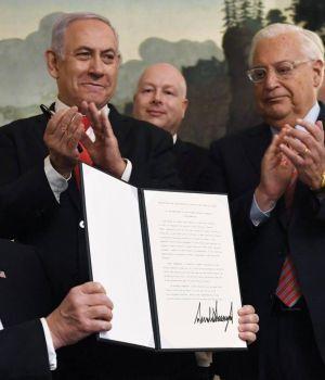 Trump reconoce los Altos del Golán como territorio de Israel