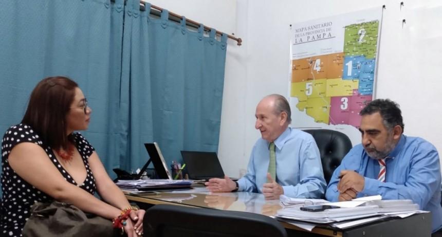El hospital de Victorica sumó los servicios de una anestesista