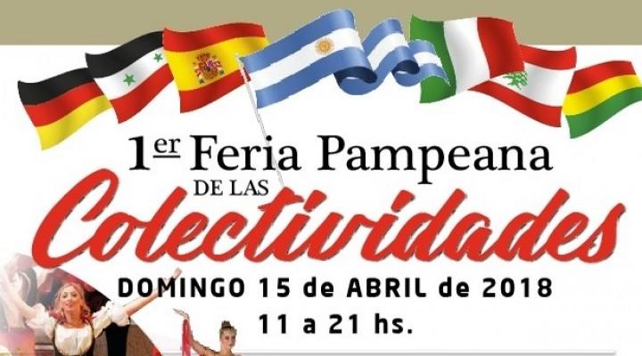 Se realiza la 1ra Feria Pampeana de las Colectividades en Toay