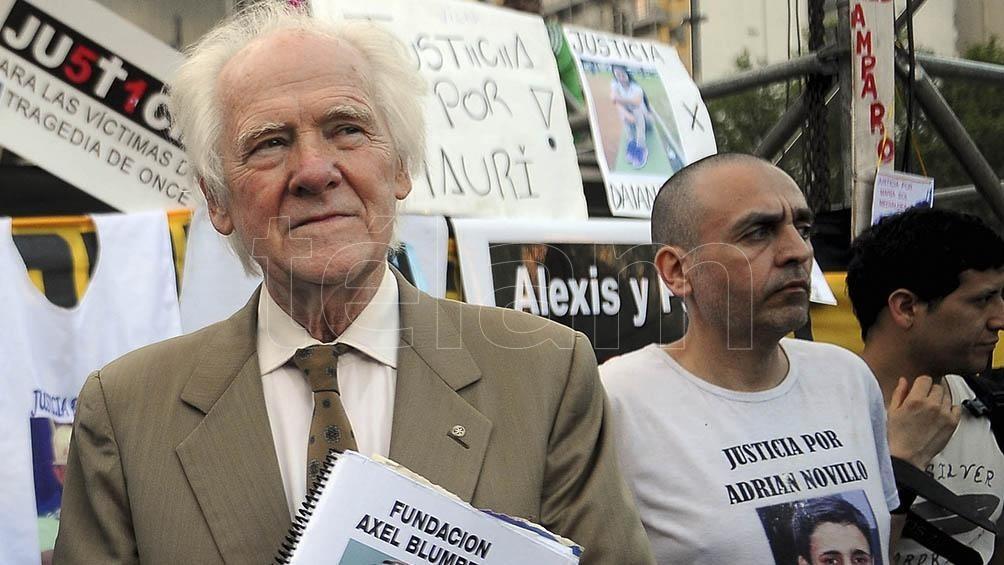 Blumberg, en contra de la prisión domiciliaria del autor del crimen de su hijo