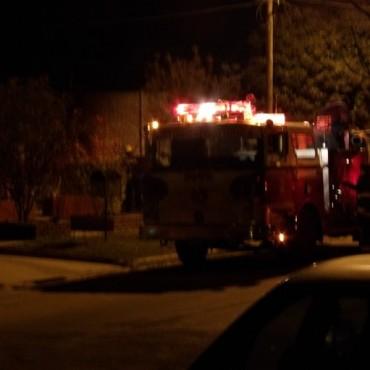 Se incendió un auto en calle 22 entre 17 y 15