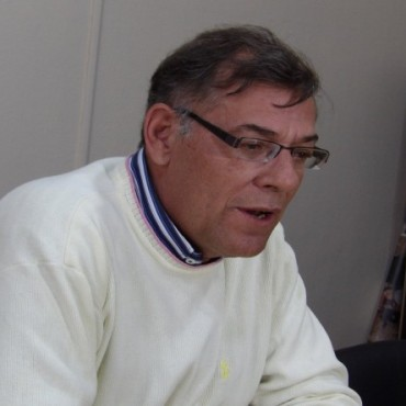 Presidente de la Cevic de Victorica Jorge Díaz
