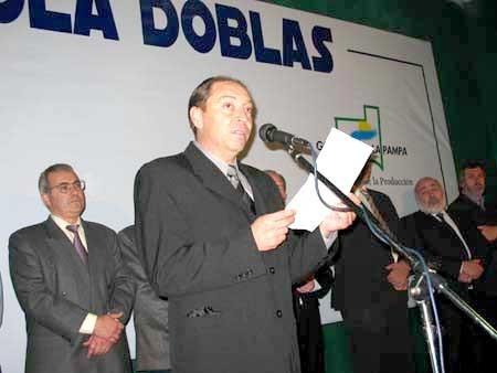 Jorge Páez sobre la realización de la Expo Apícola el 4 y 5 Agosto en Doblas