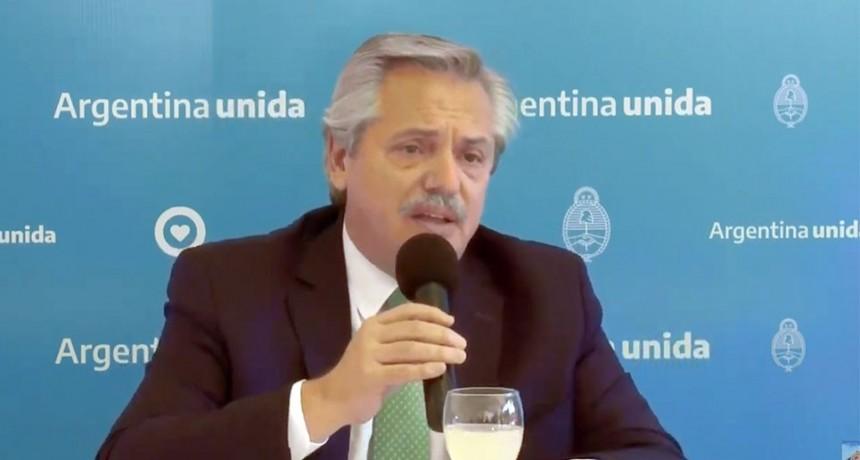 Alberto Fernández sostendrá este lunes una videoconferencia con Massa y jefes de bloques