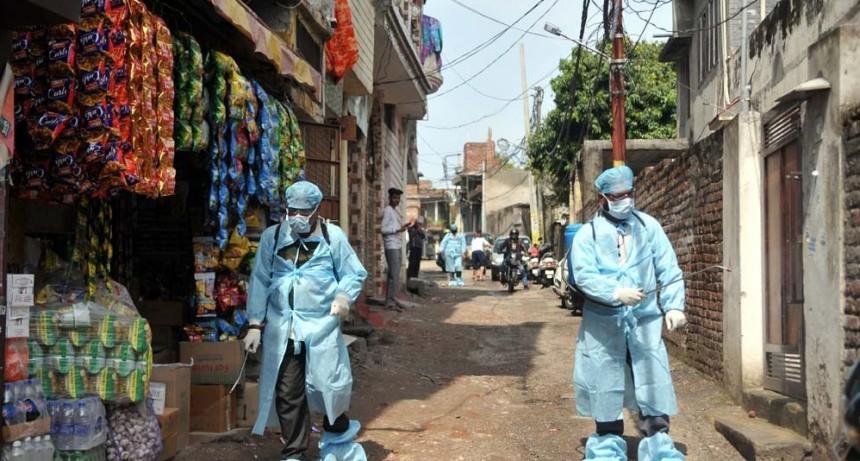 Nuevo récord de contagios en India, consolidado como el tercer país con más casos