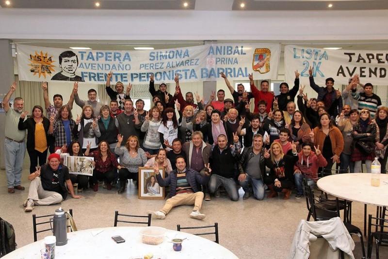 El Frente Peronista Barrial realizo balance de las elecciones y como se perfila para Octubre.