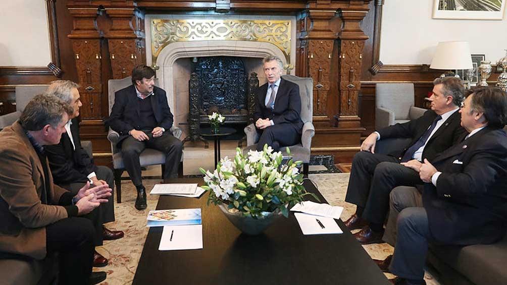 El Presidente le prometió a la Mesa de Enlace no aumentar las retenciones