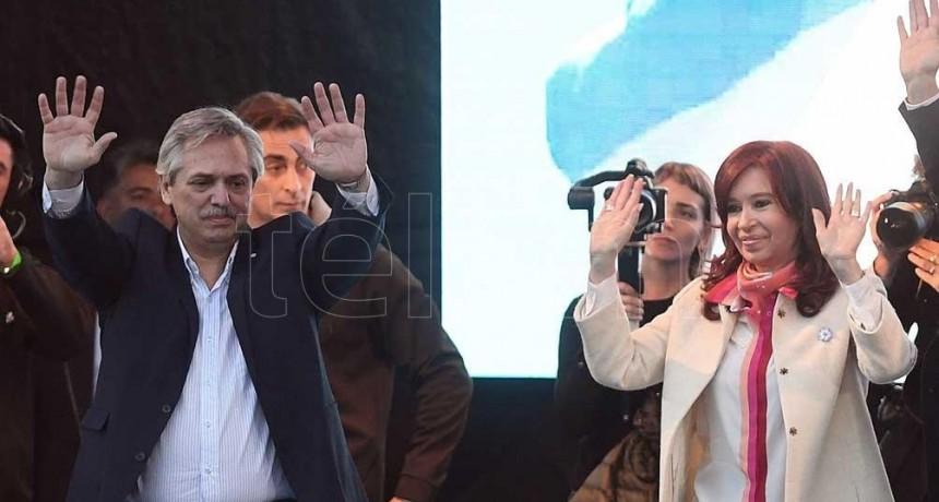 Alberto Fernández y Cristina Kirchner cierran en Mar del Plata la campaña del Frente de Todos