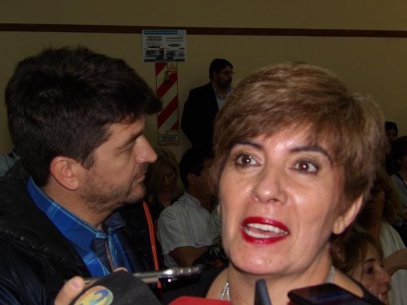 Secretaria general de UTELPA Lily Lopez:
