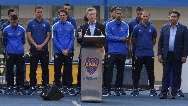 Macri, fanático de Boca, felicitó a River por ganar la Libertadores